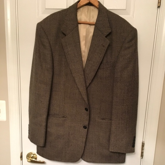 Oscar De La Renta Suits Blazers Tweed Sport Coat Poshmark